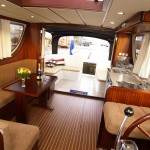 Salon Olympia 34 Hausboot fur 4 bis 6 Personen