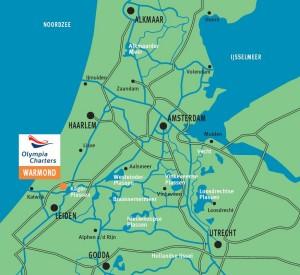 Vaarvakantie in Nederland
